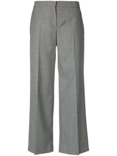 укороченные строгие брюки Alexander McQueen