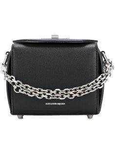 маленькая квадратная сумка Alexander McQueen
