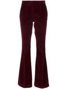 бархатные брюки клеш  Etro