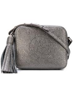 сумка через плечо с блестками Anya Hindmarch