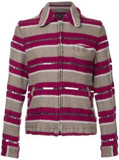 пиджак с сетчатой панелью Comme Des Garçons Vintage