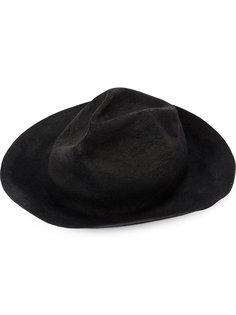фетровая шляпа с обожженным эффектом Horisaki Design & Handel