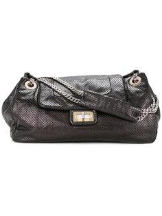 сумка на плечо с перфорацией CHANEL 2.55 Line Chanel Vintage