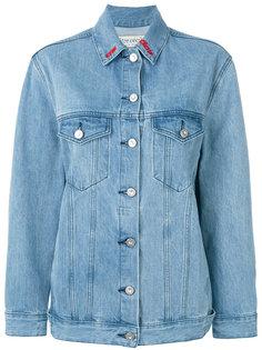 Nouvelles embroidered denim jacket Être Cécile