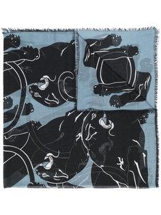 шарф с принтом пантер Valentino Garavani Valentino