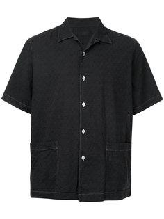 рубашка с короткими рукавами и вышивкой Comme Des Garçons Vintage