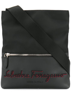 сумка-почтальонка с логотипом Salvatore Ferragamo