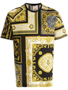 футболка с рисунком в стиле барокко Versace