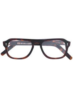 square frame glasses Cutler & Gross