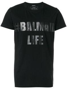 футболка Balmain Life Balmain