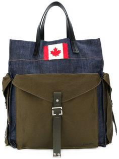 объемная сумка-тоут  Dsquared2
