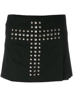 шорты с крестом из заклепок  Comme Des Garçons Vintage