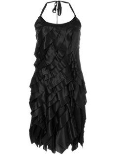 многослойное платье мини Prada Vintage