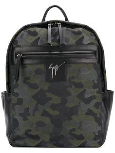 камуфляжный рюкзак Randy Giuseppe Zanotti Design
