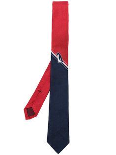 галстук с контрастной полоской Thom Browne