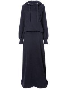 платье-толстовка с капюшоном Maison Margiela