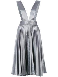 плиссированная юбка металлик  Comme Des Garçons Vintage