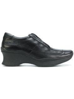туфли на шнуровке  Prada Vintage
