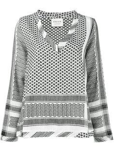 рубашка с узором в арабском стиле Cecilie Copenhagen