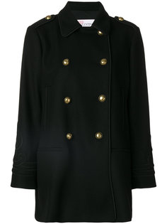 classic fitted coat Red Valentino