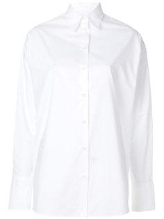 рубашка с жемчужной отделкой  Mm6 Maison Margiela