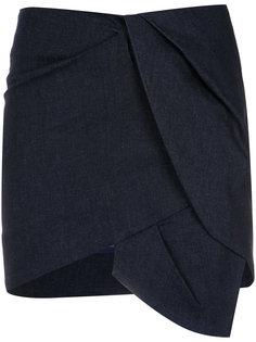 asymmetric mini skirt Giuliana Romanno
