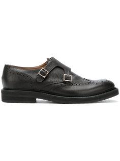 ботинки-монки с ремешками Eleventy