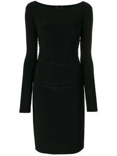 платье с длинными рукавами Norma Kamali