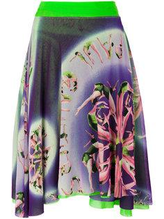 асимметричная юбка с принтом  Jean Paul Gaultier Vintage