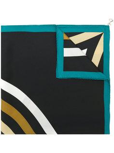 шарф с принтом  Bulgari