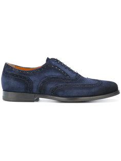 ботинки-броги Santoni