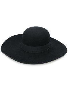 широкополая шляпа Emporio Armani