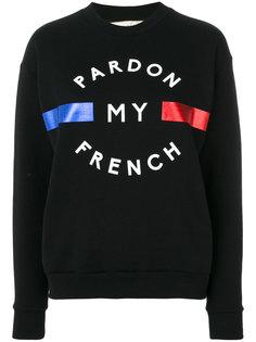 Pardon My French sweatshirt Être Cécile