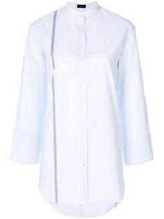 рубашка с контрастной полосой  Joseph