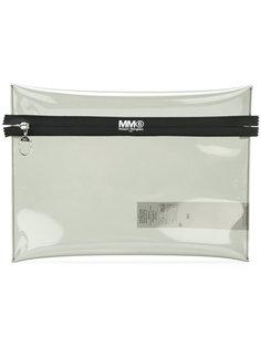 прозрачный кошелек  Mm6 Maison Margiela