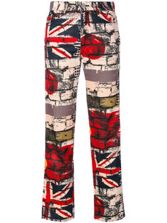 брюки с принтом  Jean Paul Gaultier Vintage