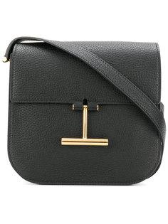 сумка на плечо с пряжкой T Tom Ford