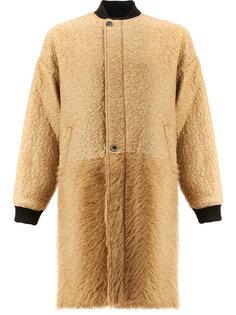 пушистое пальто Uma Wang