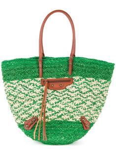 сумка-мешок Raffia Balenciaga Vintage