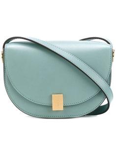 сумка с золотистой застежкой Victoria Beckham