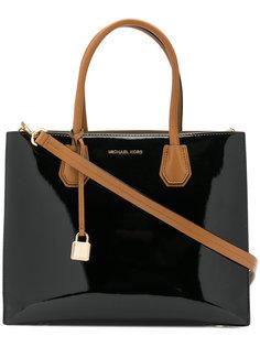 сумка-тоут с замочком Michael Michael Kors