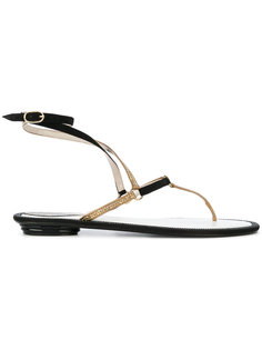 embellished leather thong sandals René Caovilla