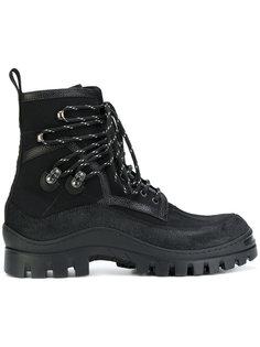 ботинки на шнуровке Dsquared2