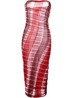 платье плотной вязки без бретелей  Stella McCartney