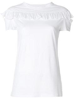 футболка с оборками Helmut Lang