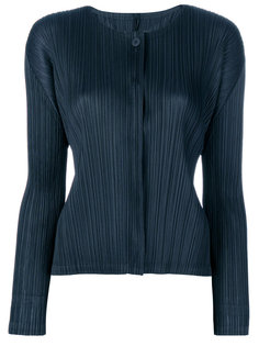 pleated cardigan  Pleats Please By Issey Miyake