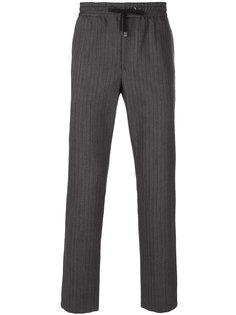 брюки с контрастными лампасами Dolce & Gabbana