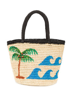 плетеная сумка vamos a la playa  Sensi Studio