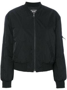 куртка-бомбер на молнии  Boutique Moschino