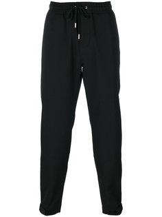 спортивные штаны с манжетами на молниях Givenchy